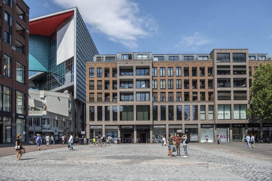 Vragen over vuile plekken en zichtbaarheid mozaïek op nieuw Vredenburgplein