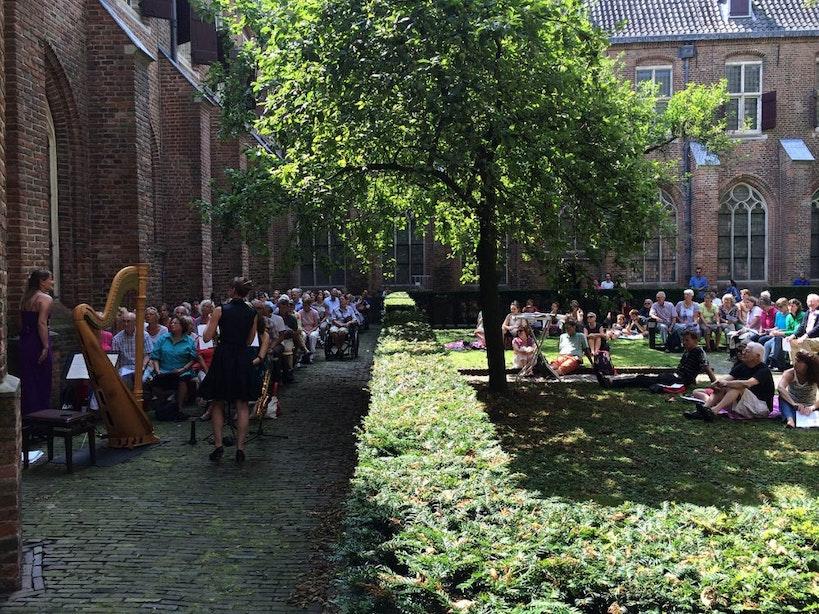 Vanaf zondag gratis concerten in kloostertuin Museum Catharijneconvent