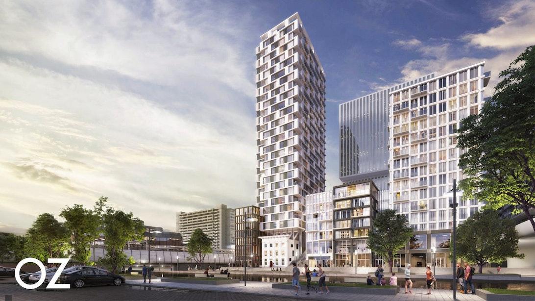 Woontoren aan Van Sijpesteijnkade bereikt hoogste punt