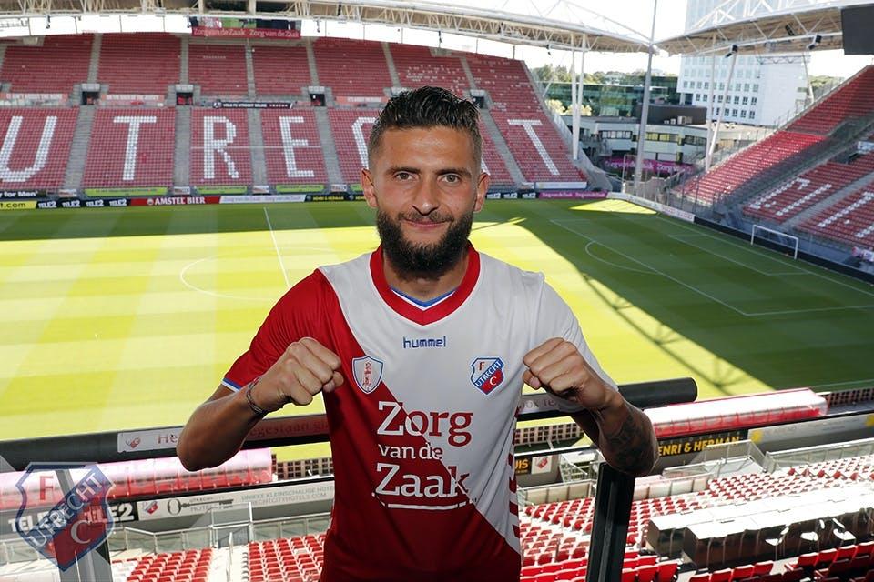 Komst Nicolas Gavory naar FC Utrecht definitief