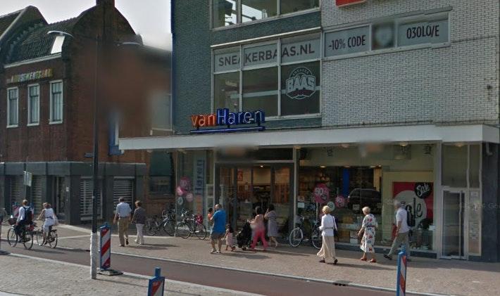 Nieuw Wok-restaurant komt op de plek van schoenenwinkel Van Haren aan Vredenburg