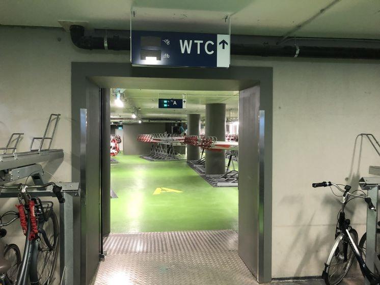900 fietsenrekken erbij met opening nieuwe stalling WTC Utrecht