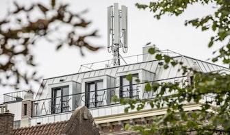Gemeente geeft nu wel vergunning af voor metershoge antenne aan de Oudegracht