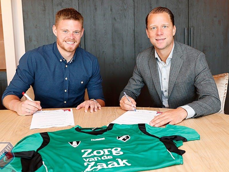 Doelman Jensen verlengt contract met FC Utrecht