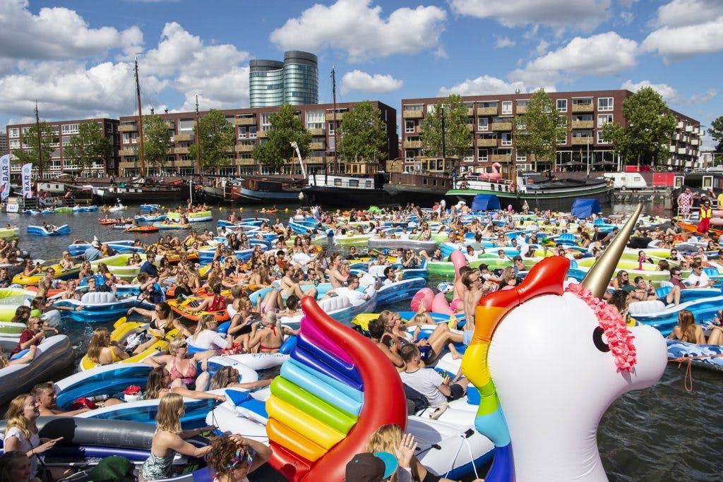 Rubberbotenfestival Utrecht Drijft deze zomer weer in Veilinghaven
