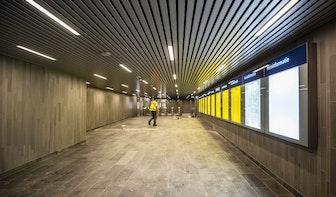 Foto's: Middentunnel klaar voor opening en Noordertunnelingang klaar voor sluiting