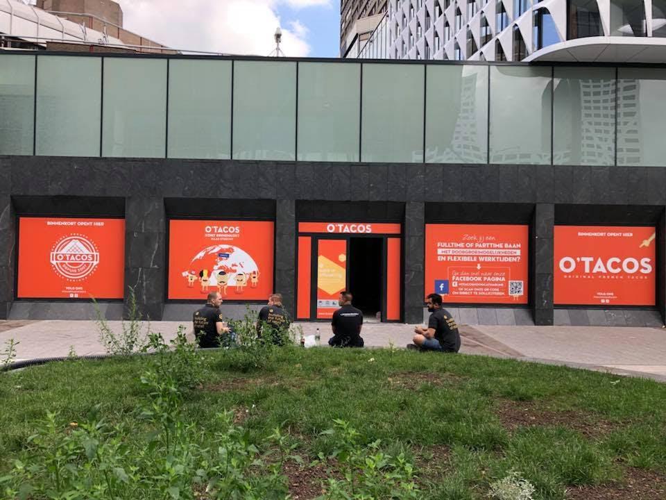 Eerste vestiging van O'Tacos in Nederland komt aan Stationsplein in Utrecht