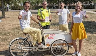 Gemeente Utrecht zet promotieteam in om drukbezochte stadsparken schoon te houden