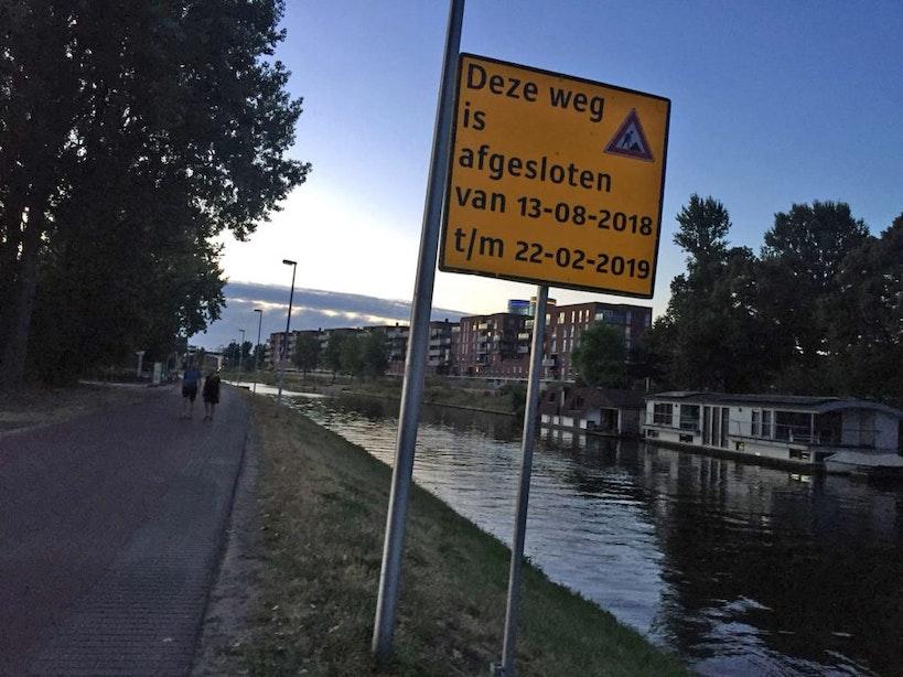 Kanaalweg Utrecht na bijna een jaar weer open voor verkeer