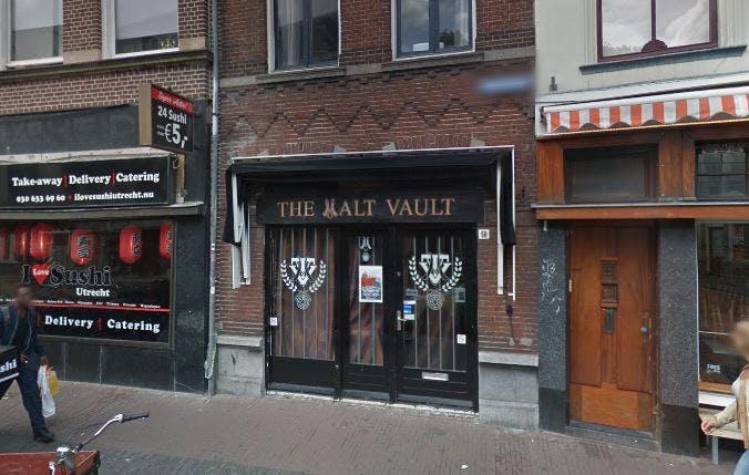 Whiskybar The Malt Vault verhuist naar Oudegracht aan de Werf