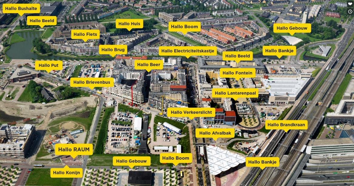Utrechters kunnen binnenkort met het straatmeubilair praten
