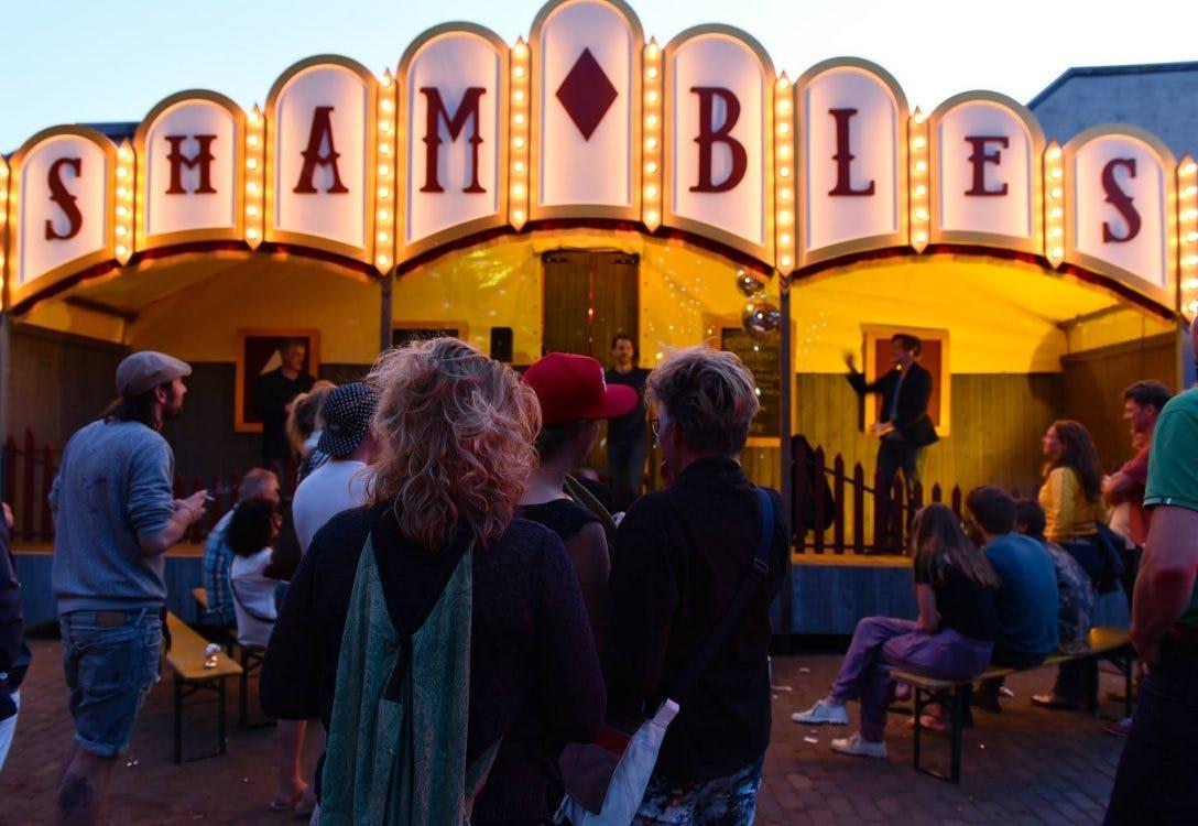 Showman's Fair voor de derde keer op het Berlijnplein in Utrecht