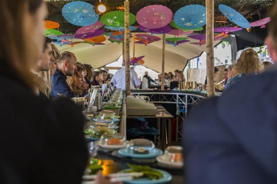 Dagtip: Sushi & Asian Streetfood Festival JOY in Griftpark