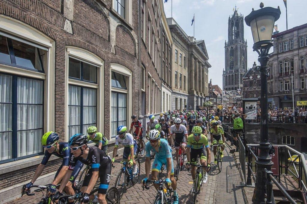 Start Vuelta in Utrecht is nog geen gelopen race
