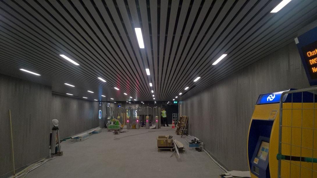 Middentunnel station Utrecht Centraal over 2 weken weer open