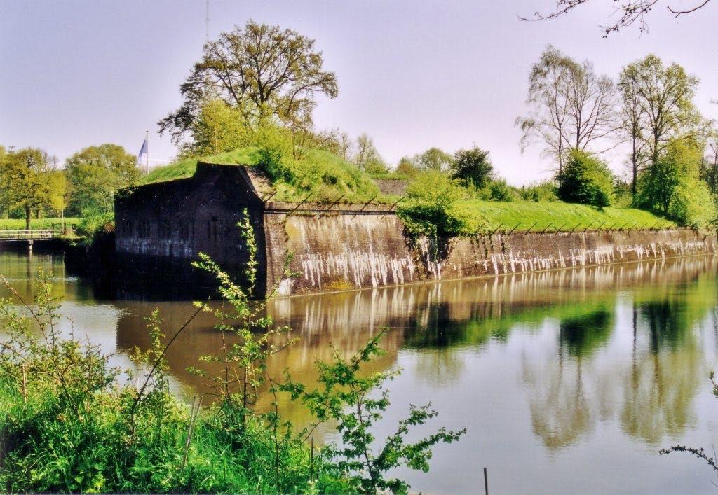 Fietsen langs forten: bezoek ze alle acht!