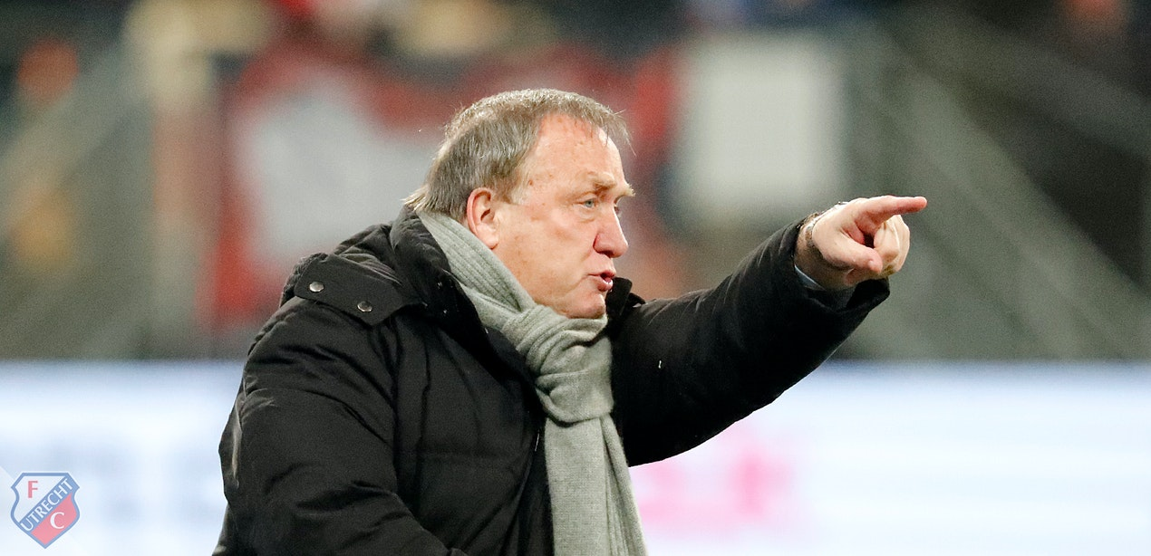 Dick Advocaat nieuwe trainer FC Utrecht