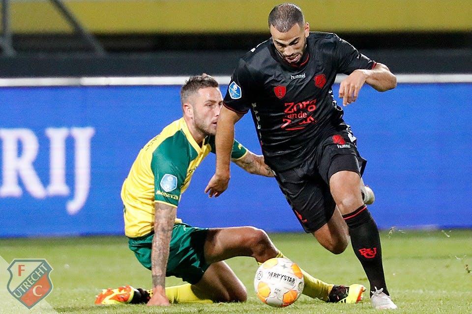Matig FC Utrecht bijt zich ook stuk op Fortuna Sittard