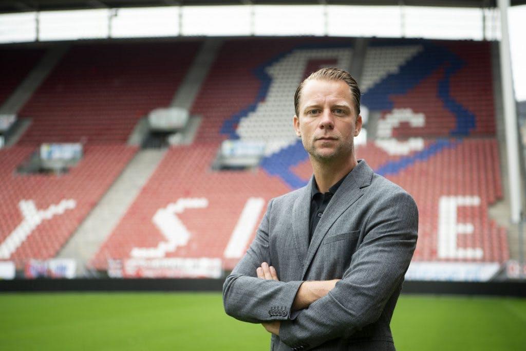 Directeur voetbalzaken FC Utrecht Jordy Zuidam: 'Pas nu konden we elkaar recht in de ogen kijken'