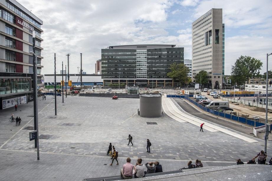 The Student Hotel wil in Utrecht Jaarbeurspleingebouw nieuw leven inblazen