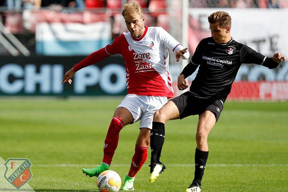 Krampachtig FC Utrecht verliest van FC Emmen