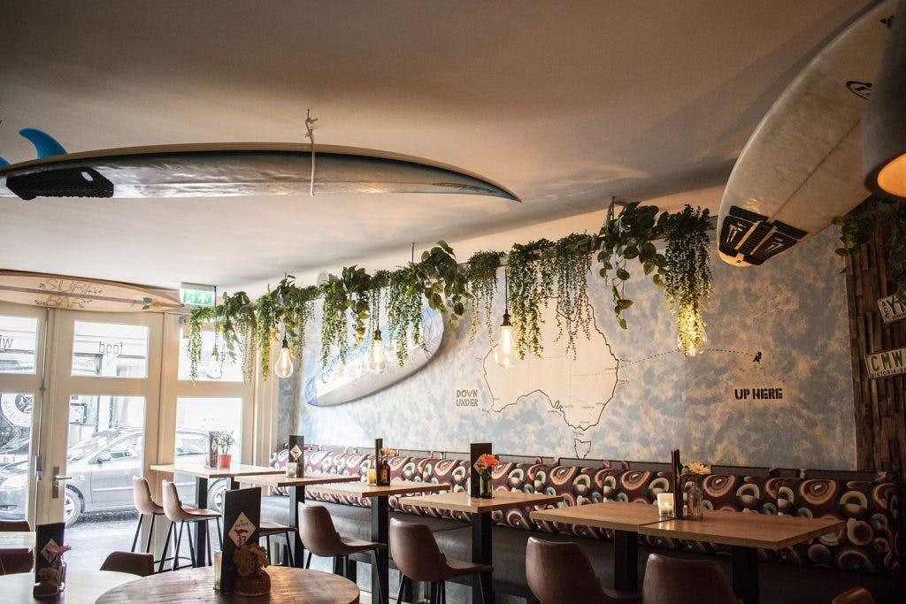 Surfbar toegevoegd aan restaurant De Rode Vosch