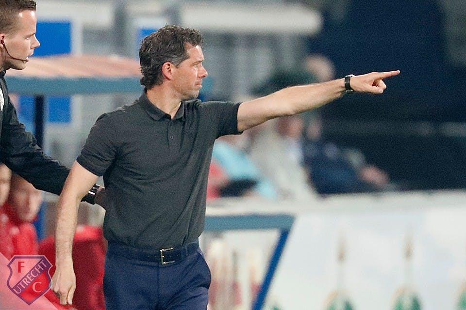 Jean-Paul de Jong per direct weg als coach FC Utrecht