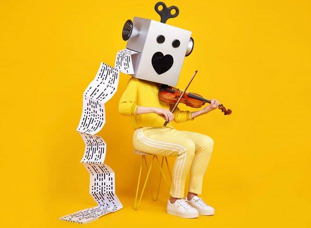 Dagtip: Robots love Music tentoonstelling