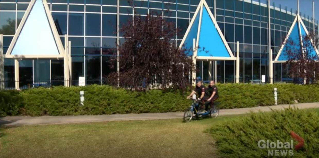 Tandem Utrechters op eerste dag van fietsvakantie in Canada gestolen
