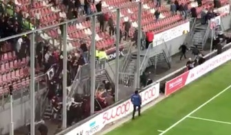 Rellen in Galgenwaard na bekerduel FC Utrecht – MVV