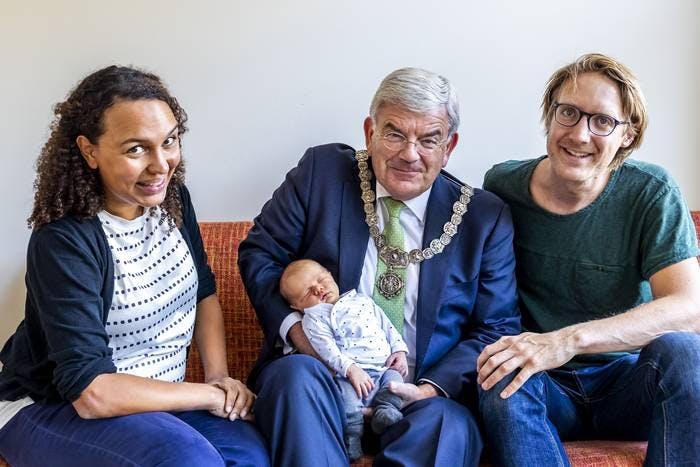 De 350.000e Utrechter is geboren