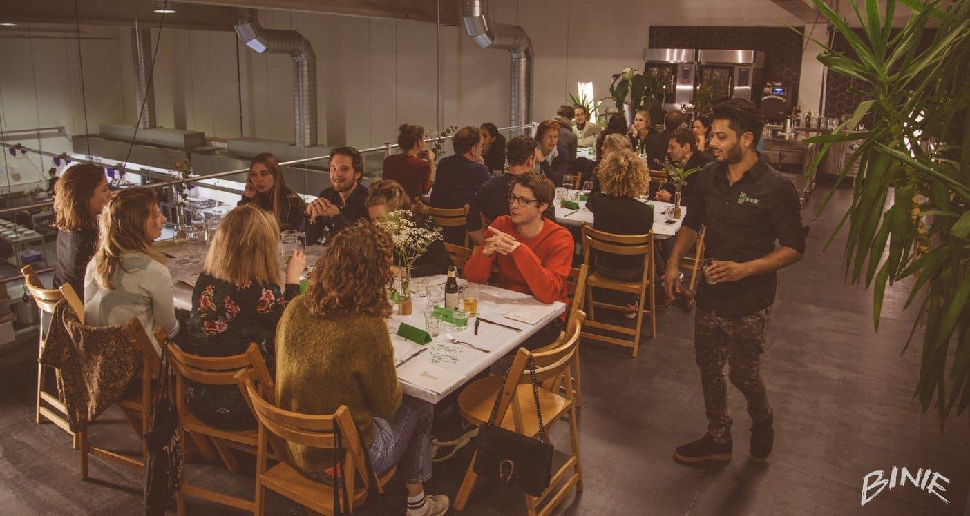Binnenkort in Utrecht: vegan restaurant Herbivore met 'Herbigarden'