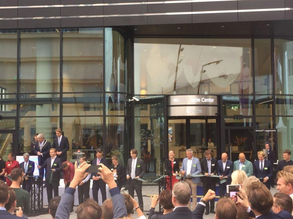 World Trade Center Utrecht officieel geopend