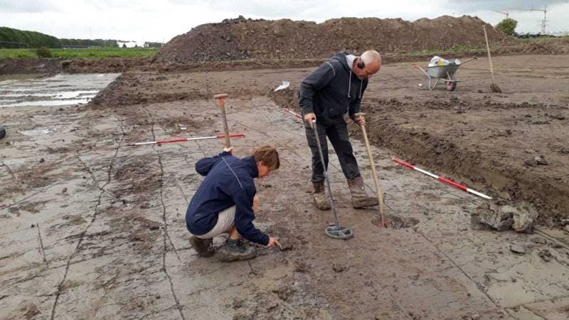 Tweeduizend jaar oude Romeinse weg blootgelegd in Leidsche Rijn