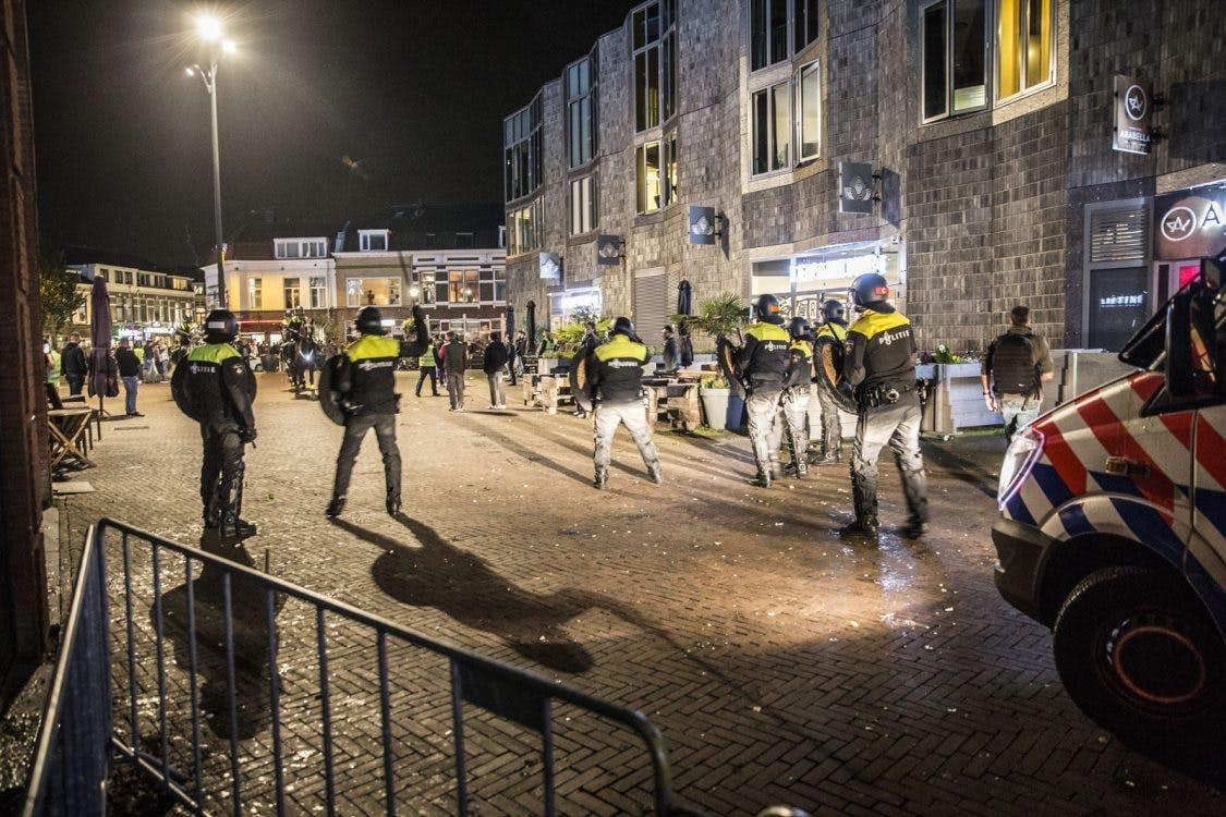 Demonstratie Pegida vroegtijdig afgebroken vanwege ongeregeldheden