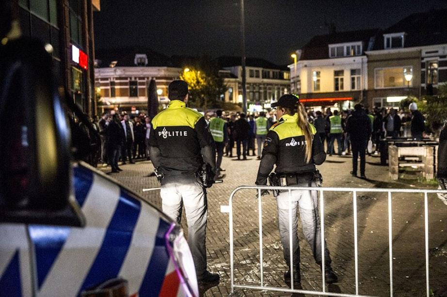 Politie gaat beelden van ongeregeldheden tijdens Pegida-demonstratie onderzoeken
