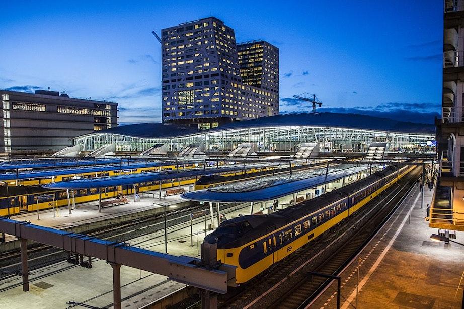 Zeven minderjarige jongens aangehouden op Utrecht Centraal