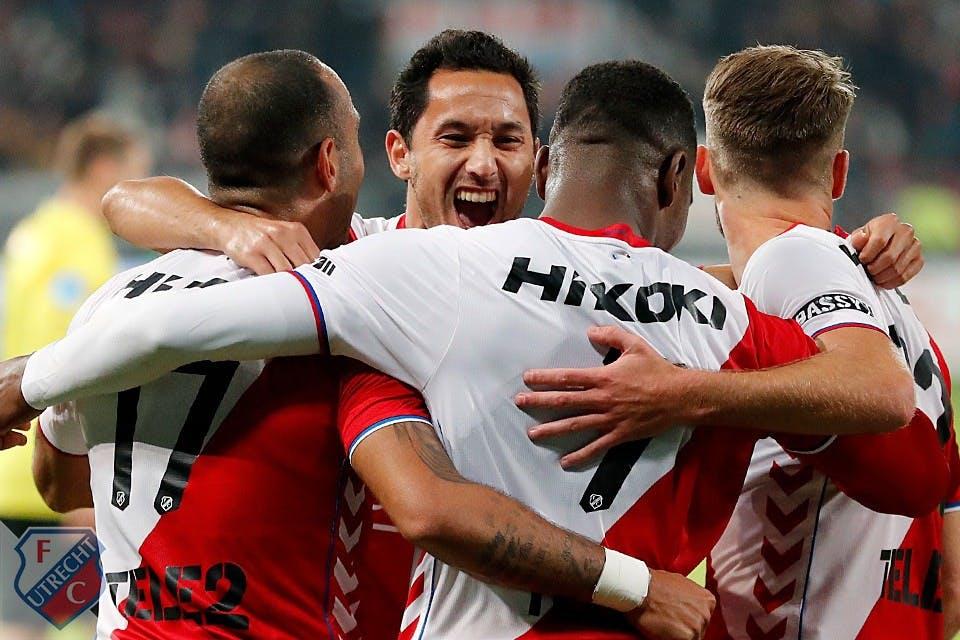 Gelukkige zege FC Utrecht op AZ