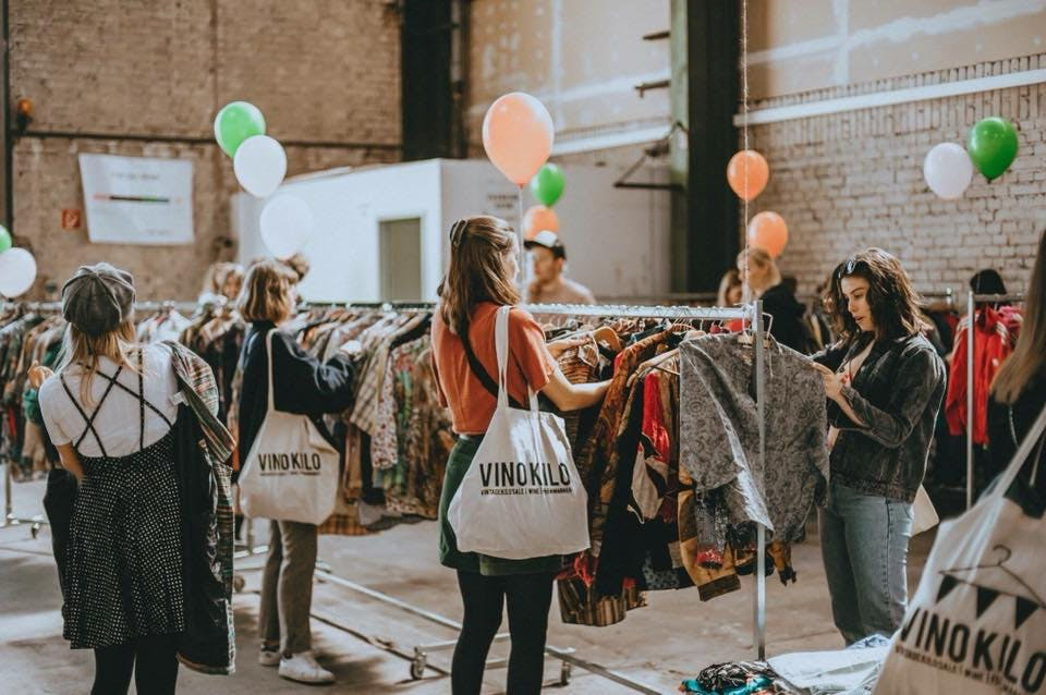 Dagtip: Vintage kleding voor €15,- per kilo