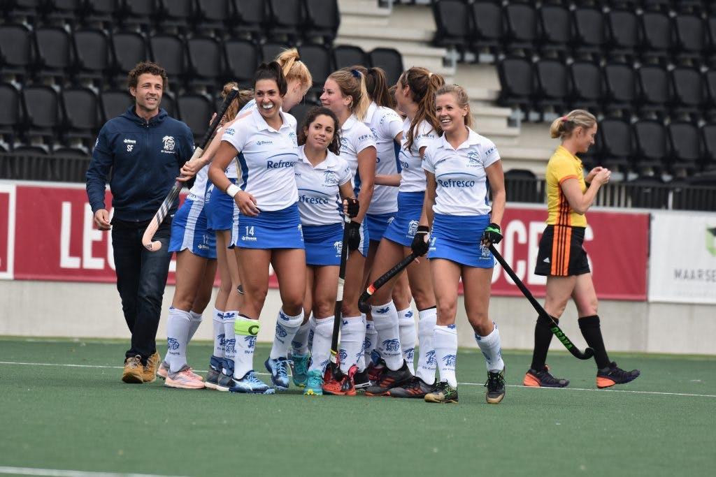 Kampong wint nipt van KZ, Dames stunten tegen Amsterdam