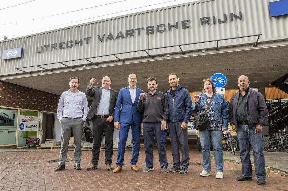 Ondernemers onder station Utrecht Vaartsche Rijn kunnen 'eindelijk' aan de slag
