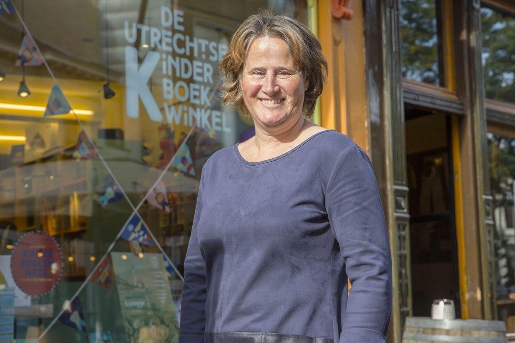 Utrecht volgens eigenaar de Utrechtse Kinderboekwinkel Dorothé Cras