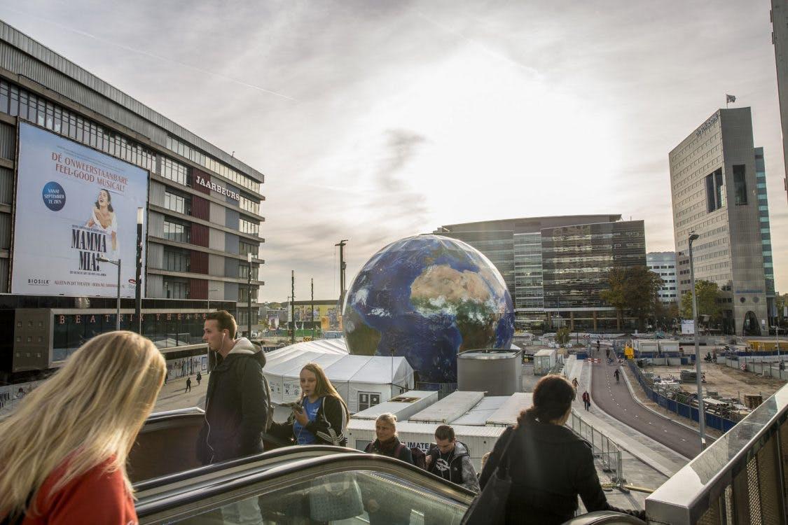 Climate Planet gebruikte dieselaggregaat als stroomvoorziening