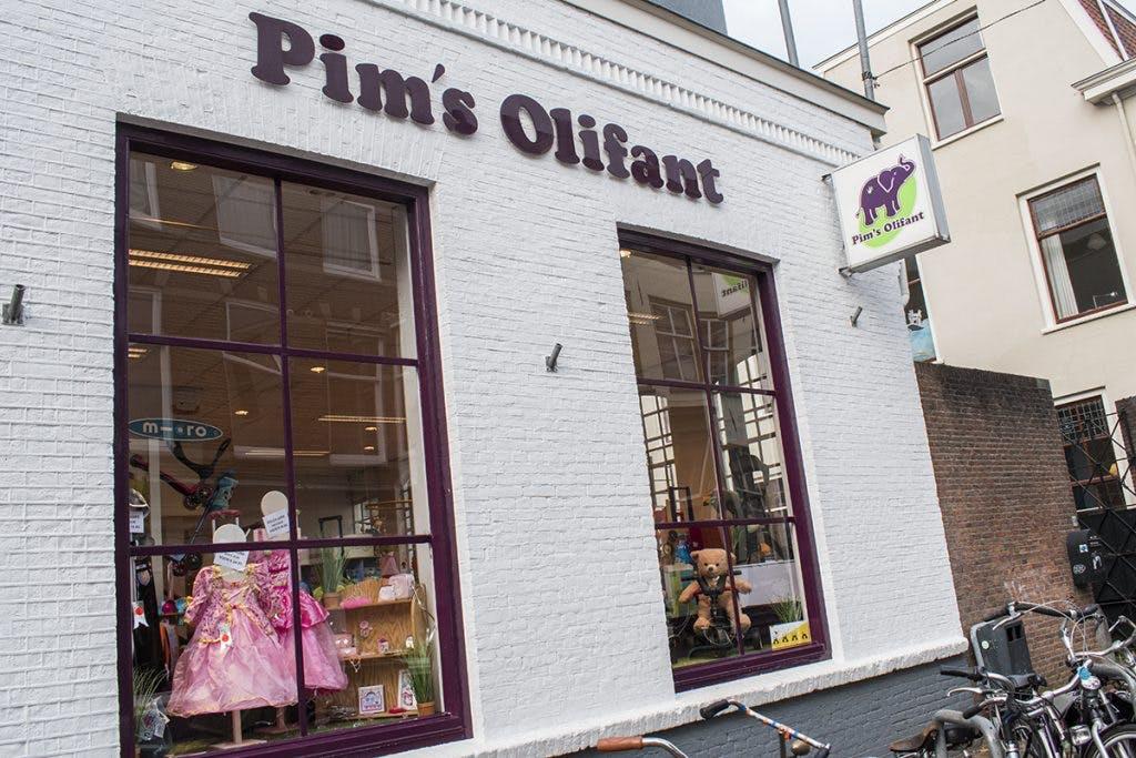 Speelgoedwinkel Pim's Olifant aan Springweg sluit na 22 jaar de deuren
