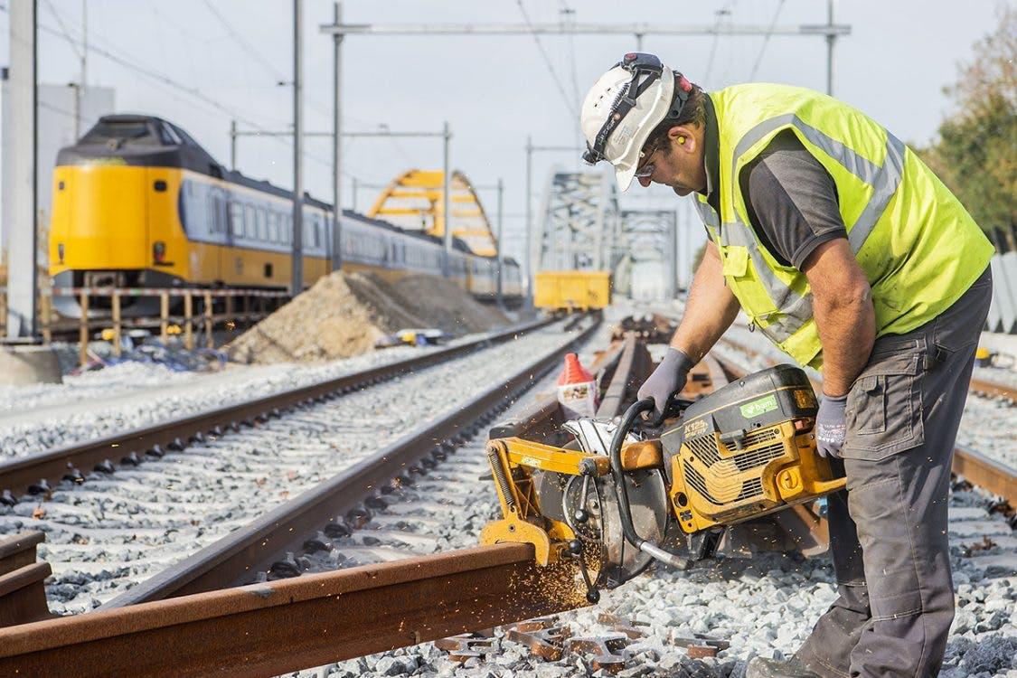 Negen dagen geen treinen; Het slotstuk van jarenlange werkzaamheden in Utrecht