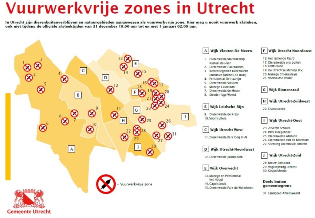 Utrecht Maakt Zich Op Voor Oud En Nieuw Vuurwerkverkoop Vrije