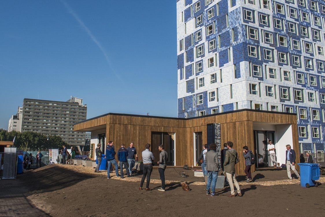 Het huis van de toekomst geopend op de Uithof: van studentenproject naar start-up