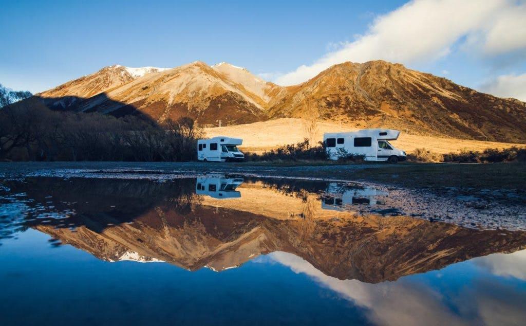 Doe inspiratie op voor een camperreis door Nieuw-Zeeland in het ANWB Café