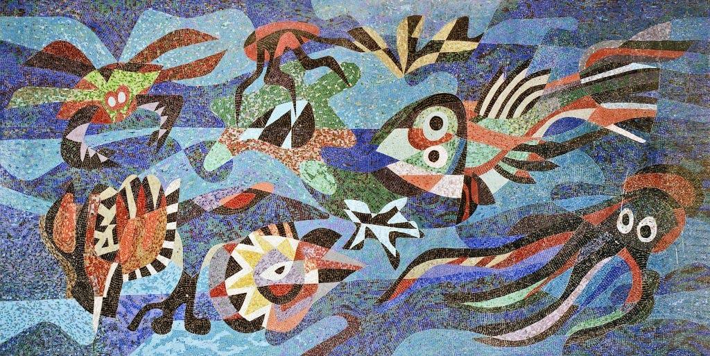 Kunst in Zwembad Den Hommel