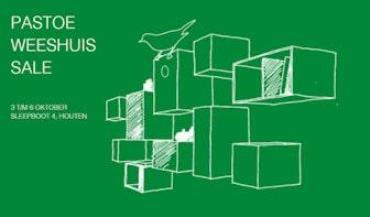 Pastoe organiseert Weeshuis Sale t/m 6 oktober